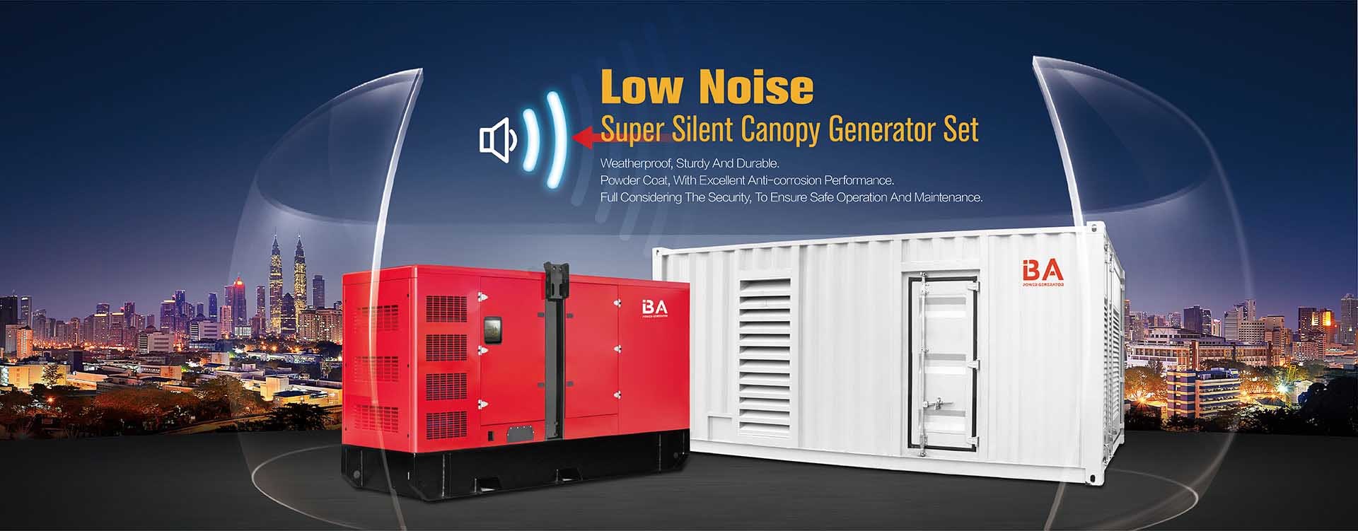 Soundproof Generator Set